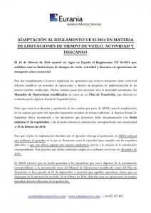 nota informativa FTL