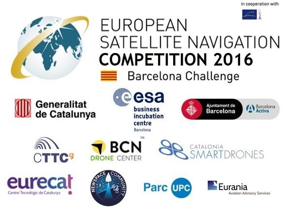 Eurania patrocinadora de la European Satellite Navigation Competition – ESNC